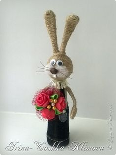 This post was discovered by На Bunny Crafts, Easter Crafts, Jute Crafts, Diy Crafts, Kegel, Sisal, Adult Coloring, Creative Art, Painted Rocks