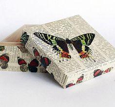 Keepsake box Memory box Decoupage Box Jewelry by MyHouseOfDreams Decoupage Box, Decoupage Vintage, Paper Crafts Magazine, Pretty Box, Altered Boxes, Keepsake Boxes, Wooden Boxes, Wooden Crates, Christmas Crafts