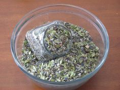 Post-partum herb and salt bath.    This might make a nice gift for a new mom.