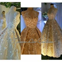 bridal gowns by Tyrone An Couture Bridal Gowns, Wedding Gowns, Debut Gowns, Wedding Fair, Prom Dresses, Formal Dresses, Couture, Design, Fashion