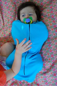 NEW The Zippered Swaddler PDF Sewing Pattern - for The Happiest Baby in the World. $3.99, via Etsy.