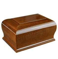 Large wooden Casket  with Cross Cremation Urn For Adult,Funeral Urn for ashes