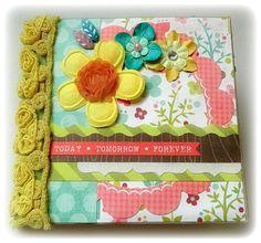 Today Tomorrow Forever Paper Bag Scrapbook Album by Brandi TPHH Fabulous Friday   eBay