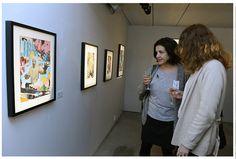 """Exposition """"Les Echappées"""" - Galerie Claude Samuel, 2014."""