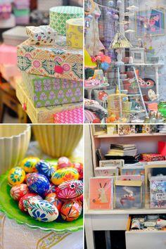 Jolander: super boutique avec plein de boîtes flashy, de papiers japonais, de bibelots... tout est adorable