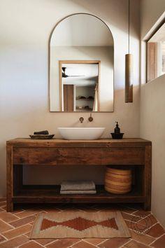 Bad Inspiration, Bathroom Inspiration, Home Decor Inspiration, Decor Ideas, Beautiful Bathrooms, Modern Bathroom, Master Bathroom, Timber Bathroom Vanities, Timber Vanity