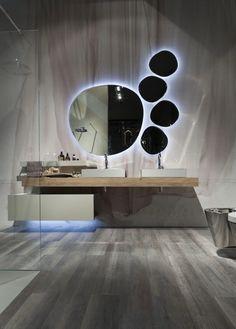 Rivestimento in fibra di vetro idrorepellente modello Tende @SaloneBagno 2014 http://www.edonedesign.it/prodotti/componenti/rivestimenti