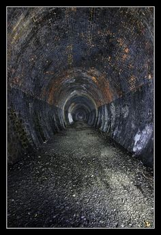 The second in a series of articles by photographer 'K-Burn' featuring the Neidpath abandoned railway tunnel in Peebles, Abandoned Train, Abandoned Houses, Abandoned Places, Train Tunnel, Ghost Hunting, Haunted Places, Urban Exploration, Train Tracks, Scotland