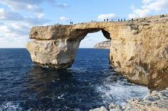 Gozo Island, Malta - Swim through the famous Azure Window, or stay in the shallows.