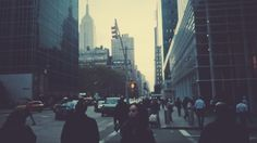 Week day afternoon on 6 avenue #nyc #vsco #fall