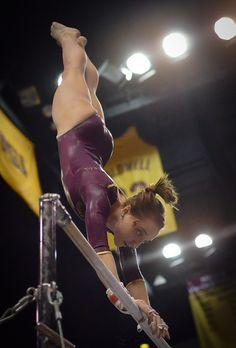 Oregon State @ ASU #gymnastics #KyFun