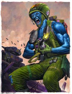 "ROGUE TROOPER: ""We're G.I.s. Engineered to kill anything and everything... except ourselves."""