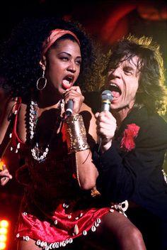 Lisa Fischer & Mick Jagger