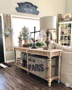In this post I share some great tips on styling a console table with sources to some great products. Foyer table styling, ideas for a sofa table, decor styling ideas for a table, how to style a great foyer table, sofa table style ideas