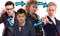 River Song's Doctor Who life in order
