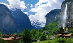 Долина Лаутербруннен (Lauterbrunnen Valley), Швейцария
