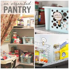 This pantry makeover is full of simple and smart pantry organization ideas! Turn a disorganized, boring, pantry into a pretty, functional space. Baby Closet Organization, Kitchen Drawer Organization, Budget Organization, Container Organization, Storage Containers, Diy Drawer Organizer, Pantry Makeover, Modern, Organizing Solutions