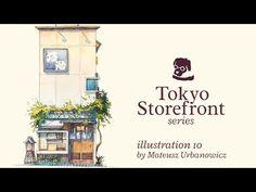 『君の名は。』背景スタッフが日本の日常的な風景を描く「東京店舗シリーズ」 | ROOMIE(ルーミー)