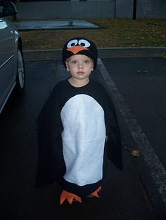 homemade penguin costume - Infant Penguin Halloween Costume