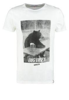French Kick - BIG BEAR - T-shirt print - white