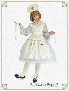 アンのナースセット(ワンピース・エプロン・ナースキャップ)/nurse set(One piece dress/Apron/Nurse cap) | BABY,THE STARS SHINE BRIGHT