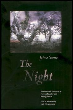 Jaime Saenz - The Night Portada de Traducción