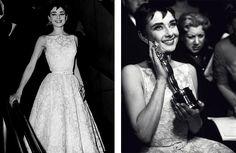 Audrey Hepburn's dress - 1954
