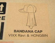 VIXX-THE-CELEBRITY-X-VIXX-X-the-studio-K-OFFICIAL-RAVI-HONGBIN-BANDANA-CAP-NEW