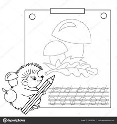 This wonderful hedgehog colouring in activity, is perfect