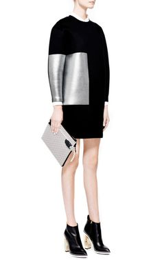 Color-Block Neoprene Shift Dress by Josh Goot - Moda Operandi