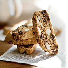 Low-Cal Deep Dark Chocolate Biscotti | CookingLight.com