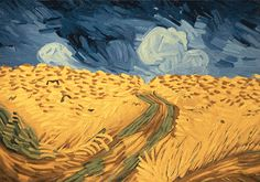 'LOVING VINCENT,' an Animated Film Featuring 12 Oil Paintings per Second by Over 100 Painters 'Loving Vincent' will be the world's first feature length painted animation, with every shot painted with...
