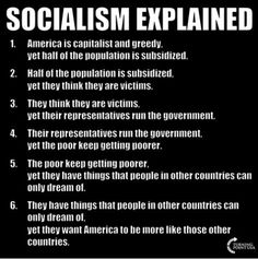 Evil capitalism (sarc) subsidizes 50 % poor (welfare,food stamps,tax refunds that are higher than what they paid in) sounds like socialism creeping in Liberal Hypocrisy, Liberal Logic, Socialism, Communism, Political Corruption, Wisdom Quotes, Life Quotes, Great Quotes, Inspirational Quotes