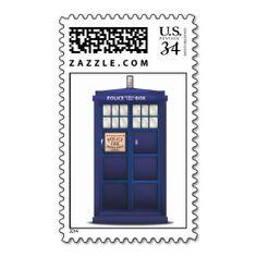 British Police Box Stamps