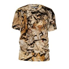 #brownleaves by #frankiet #tshirt #alloverprint #leaves #fallleaves #driedleaves #brown #citrusreport  #@Matty Chuah Citrus Report