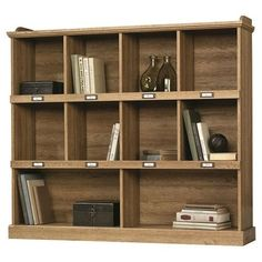in finish salt barrister oak home tag id sauder library pin stores bookcase furniture decor credenza entertainment bookcases new lane