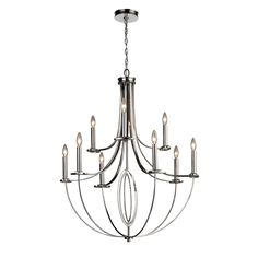 ELK Lighting E101216 Dione Mid Sized Chandelier