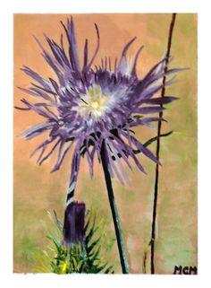 flor+silvestre+lila-acrilico-flores.jpg (1174×1600)