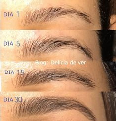 makeup ojos – Hair and beauty tips, tricks and tutorials Sparse Eyebrows, How To Do Eyebrows, Tweezing Eyebrows, Castor Oil Eyebrows, Castor Oil For Hair, Eye Makeup Tips, Eyebrow Makeup, Face Makeup, Makeup Places