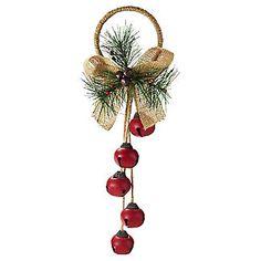 Jingle Bells Door Hanger Christmas Decoration alt image 1