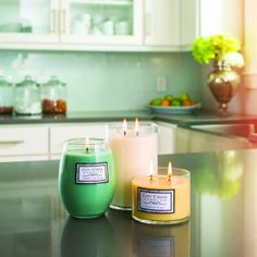 City Creek Candles are made of high performance soy paraffin, so you can enjoy a clean, even burn and more intense fragrance for the life of the candle, both when the wax is cold and when it is burned or warmed.