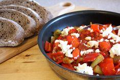 Chilli and Tomato Spread (Przeni Piperki i Domati) Macedonian Food