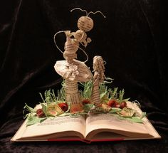 Who Are You? book sculpture by Jodi Harvey-Brown