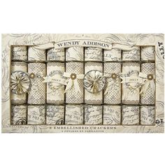 Take a look at this Meri Meri Wendy Addison Party Cracker Set on zulily today! Christmas And New Year, Vintage Christmas, Christmas Time, Christmas Crafts, Xmas, Christmas Crackers, Paper Artist, Party Packs, Surprise Gifts