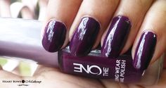 Oriflame the ONE Nail Polish purple in paris