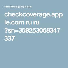 checkcoverage.apple.com ru ru ?sn=359253068347337