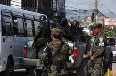 La Policía Militar combate al crimen organizado y la delincuencia. Policía Militar abarcará los 18 departamentos de Honduras