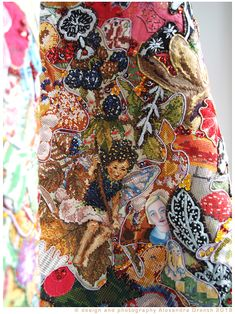 never forget those beautiful days - an ode to Kiss Riemvis 2018. details. Alexandra Drenth - Textile artist in Amsterdam - Netherlands. hand embroidery.