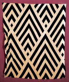 Liubov Popova Sample of Printed Fabric, State Tretiakov Gallery, Moscow