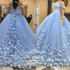 Light Blue Sweet 16 Quinceanera Prom Dresses 2017 Ball Gown Off Shoulder 3D Flowers Puffy Tulle Arabic 18 Princess Communion Party Gowns 2017 Quinceanera Dresses Ball Gown Quinceanera Dresses 3D-Floral Prom Dresses Online with $312.5/Piece on In_marry's Store | DHgate.com